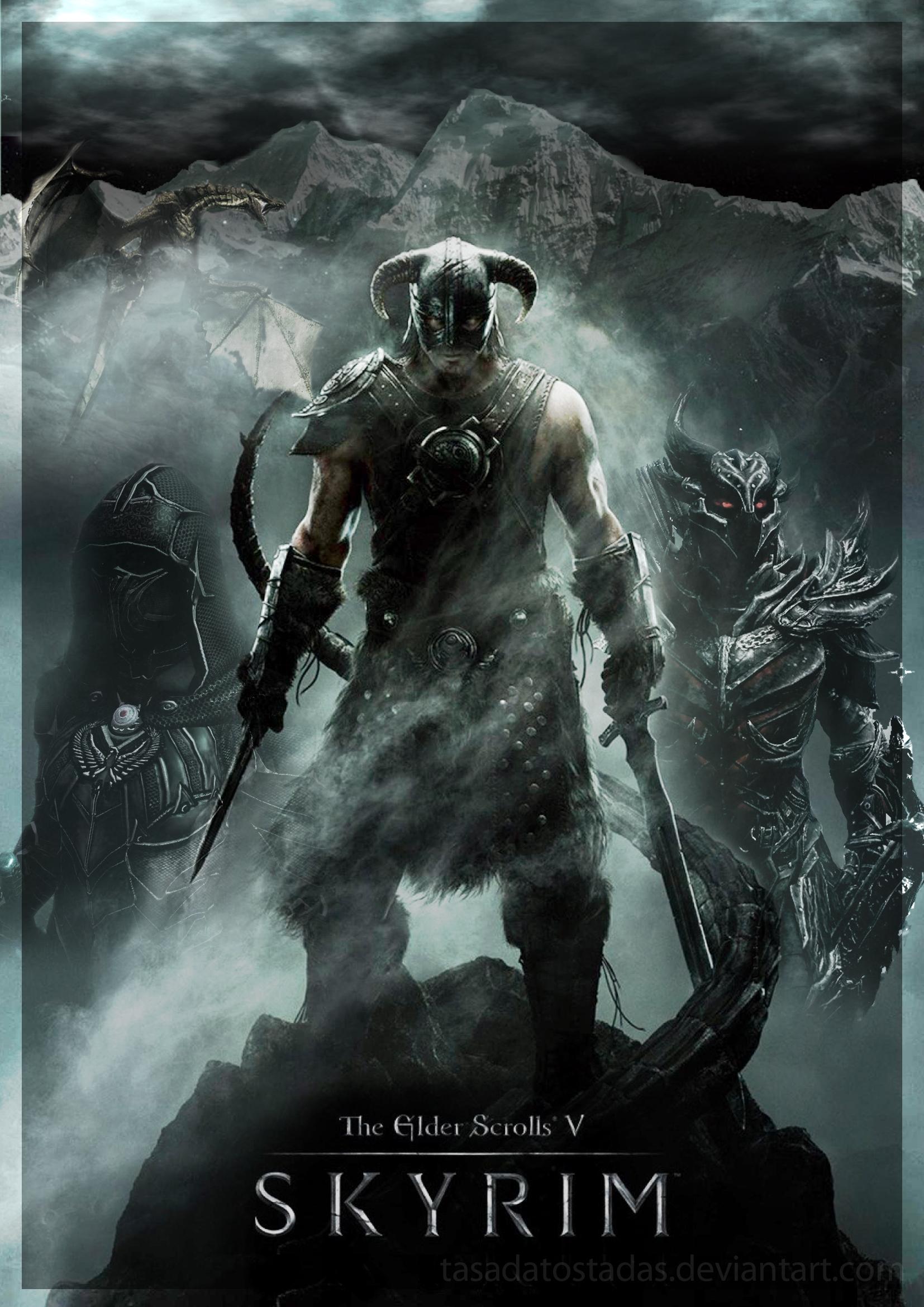 Skyrim The Elder Scrolls by tasadatostadas