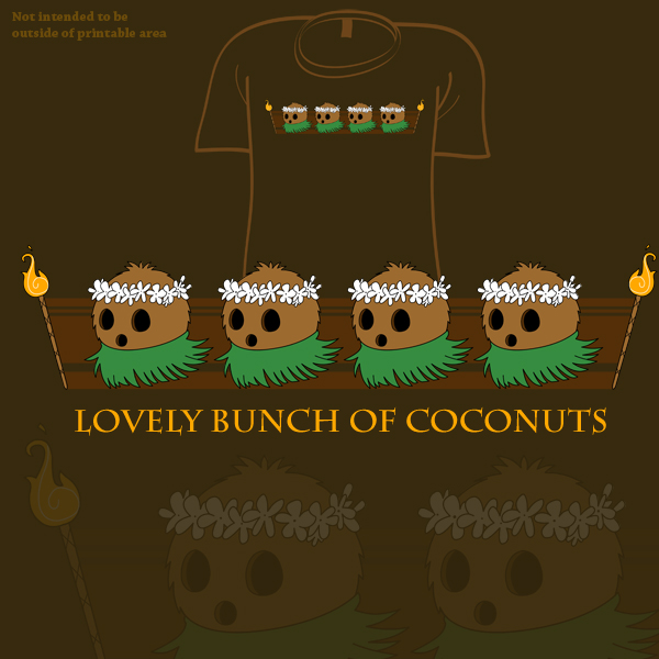 Woot Shirt - Lovely Bunch by fablefire