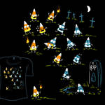 Woot Shirt - Zombie Candycorn