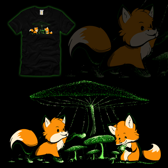 Woot Shirt - Foxfire by fablefire