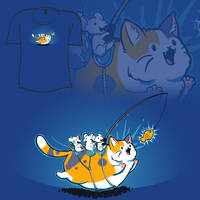 Woot Shirt - Go Kitty Go by fablefire