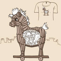 Woot Shirt - Are We There Yet by fablefire