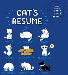 Woot Shirt - Cat's Resume