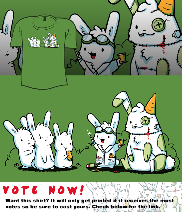 Woot Shirt - Made With Love And Carrots by fablefire