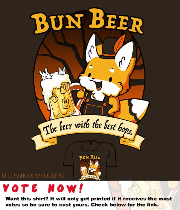 Woot Shirt - Bun Beer by fablefire