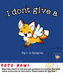 Woot Shirt - A Flying Fox