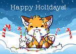 151202 Happy Holidays from Little Fox and Bun