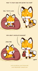 160324 Chocolate Bunnies by fablefire