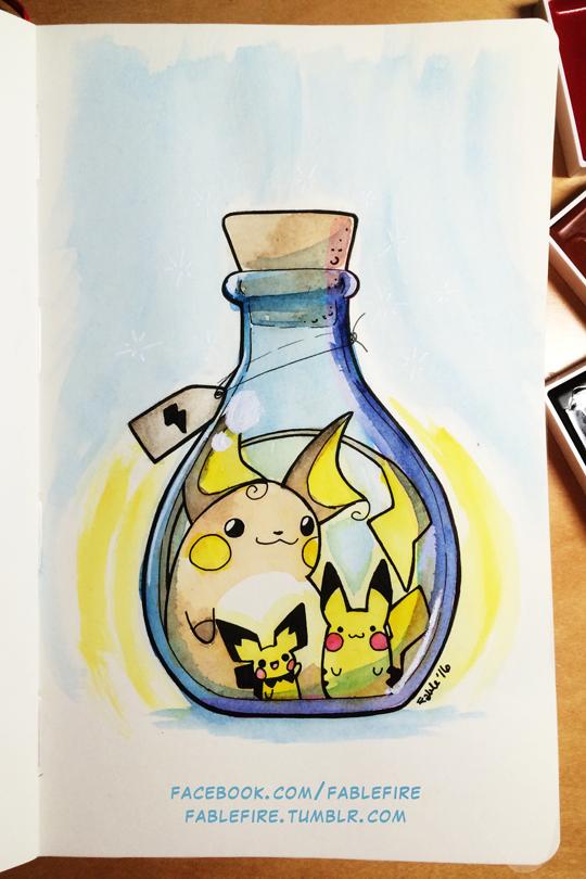 160527 Lightning In A Bottle by fablefire