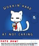 Woot Shirt - Workin Hard At Not Caring
