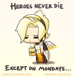 161113 Mercy Monday by fablefire