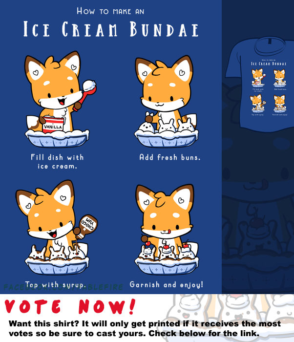 Woot Shirt - Ice Cream Bundae by fablefire