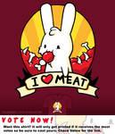 Woot Shirt - I Heart Meat