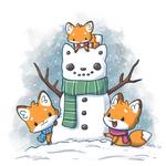 180108 - Snow Fox