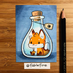 180321 Bottle Fox