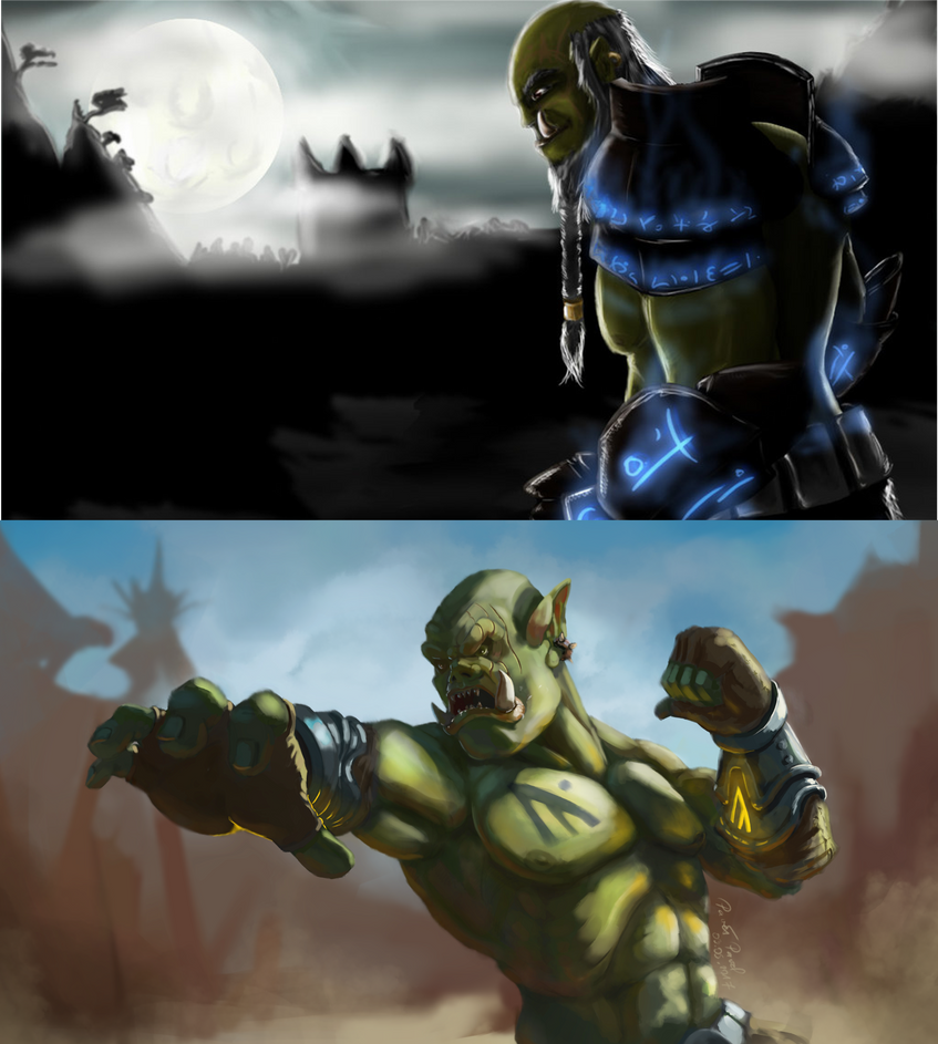 Rune Orc redraw by Slauer