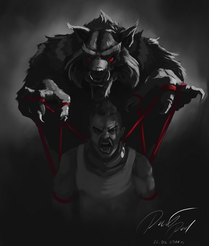 Controlled by Anger by Slauer