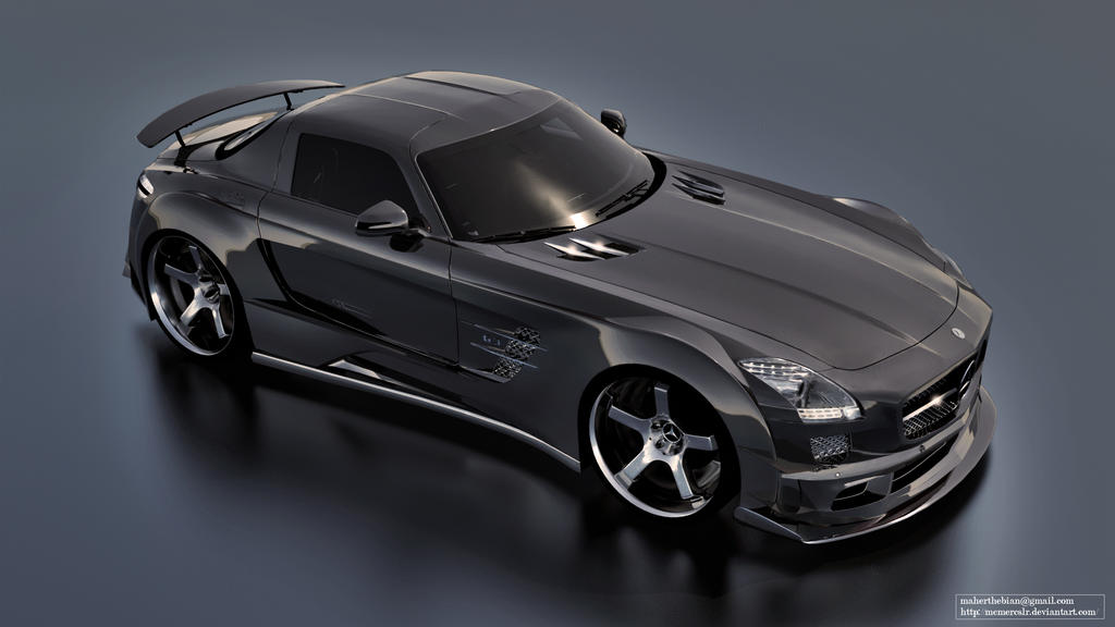 Mercedes Sls Amg Black Series Tuning By Mcmercslr On