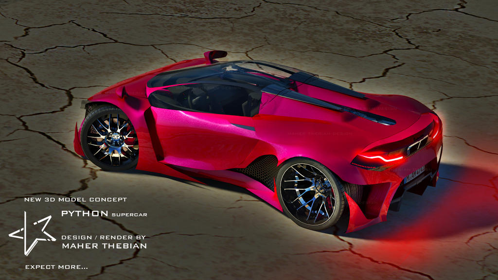 THEBIAN PYTHON Supercar By Mcmercslr ...