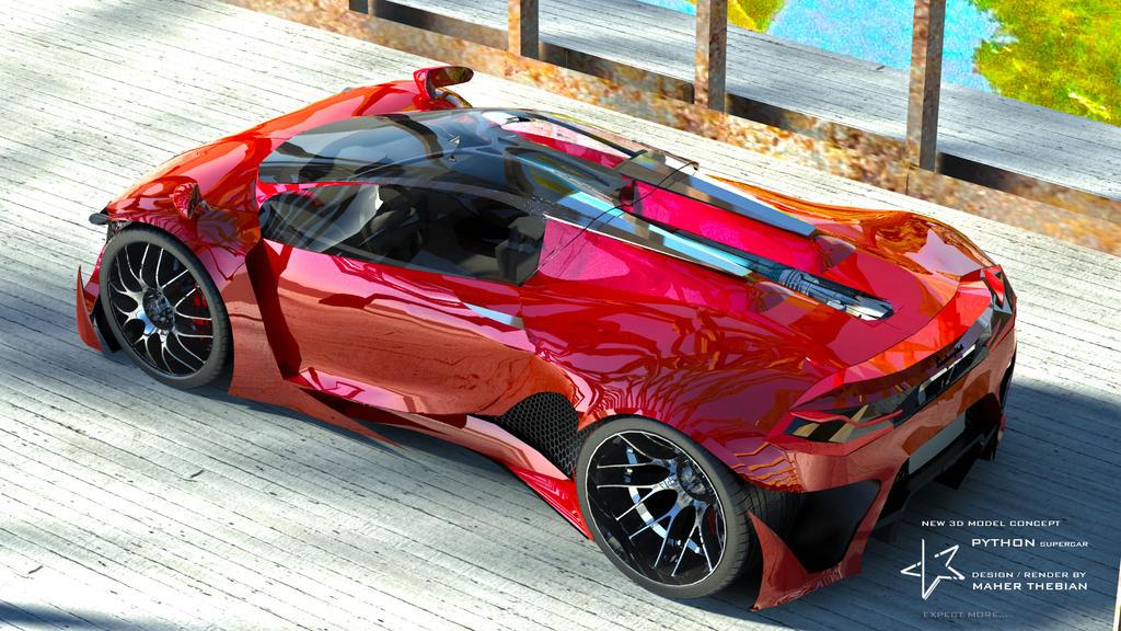 Python Super Car By Mcmercslr On Deviantart