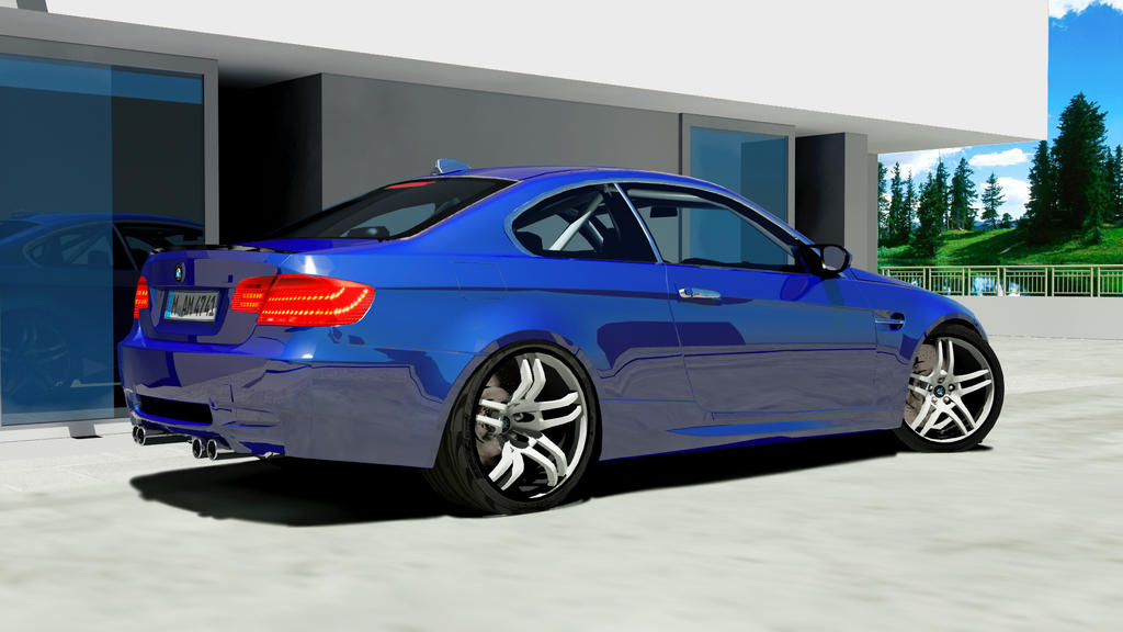 BMW M3 ON NEW RIMS by mcmercslr on DeviantArt