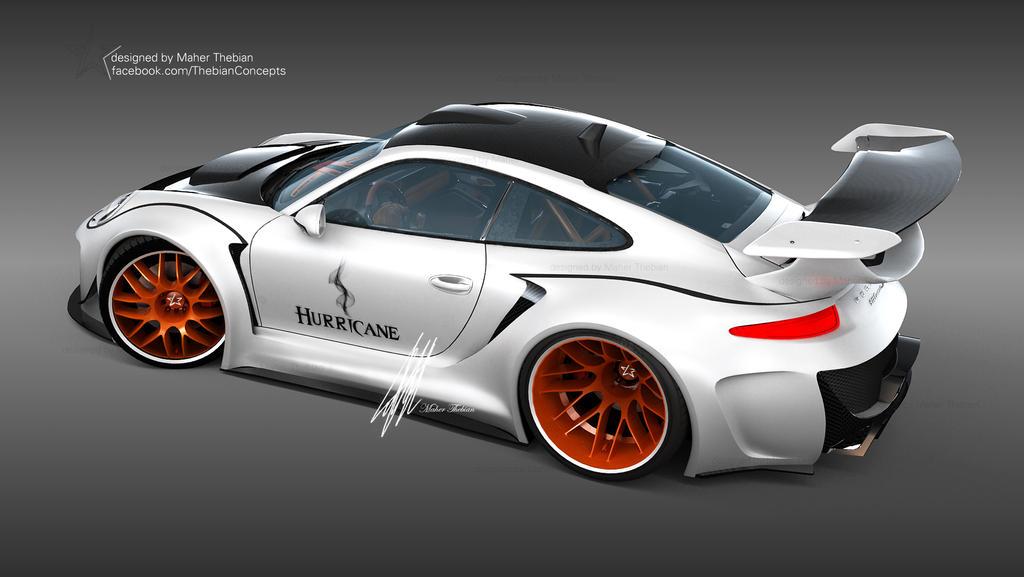 Monster Porsche Hurricane Concept Design: Porsche HURRICANE Sports Package Concept Design By