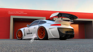 Porsche HURRICANE sports package Concept Design