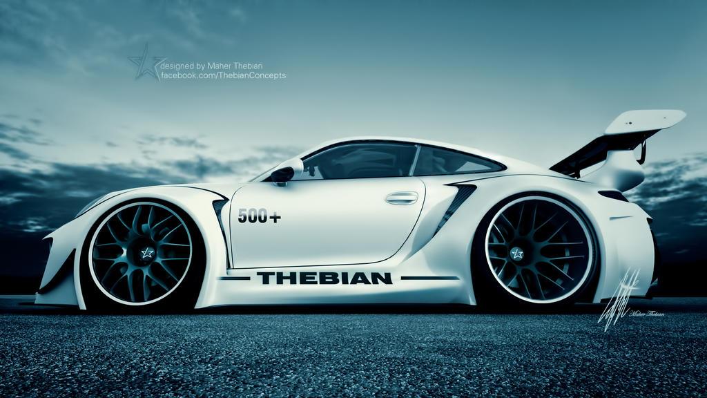 Monster Porsche Hurricane Concept Design: Porsche HURRICANE By ThebianConcepts By Mcmercslr On