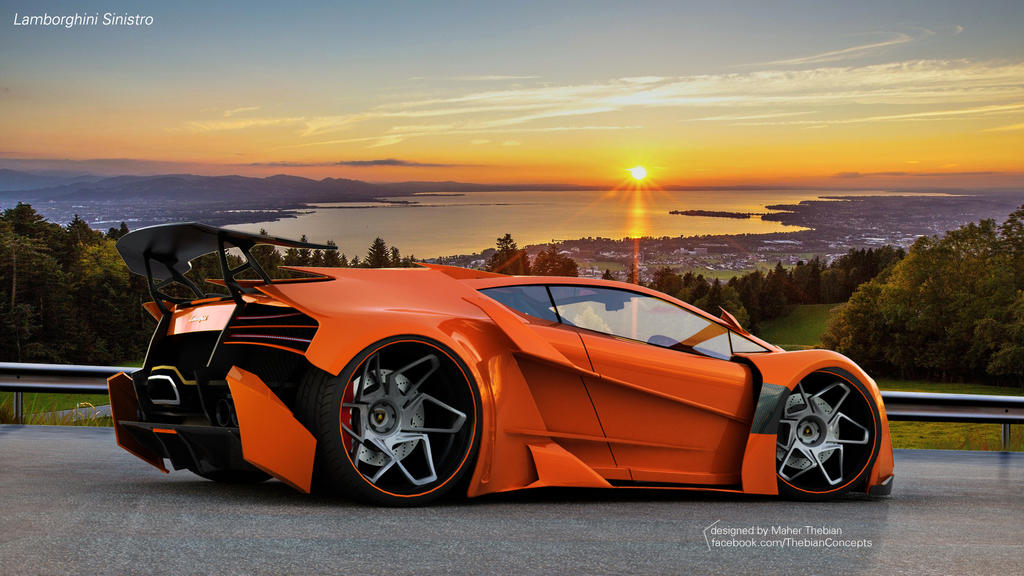 Lamborghini SINISTRO By ThebianConcepts By Mcmercslr ... Amazing Pictures