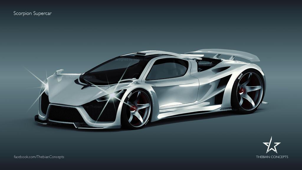Scorpion Concept Supercar By Mcmercslr On Deviantart