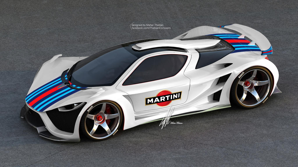 MARTINI Scorpion Supercar By Thebian Concepts By Mcmercslr ...