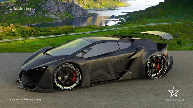 Lamborghini SINISTRO on HRE S101 rims