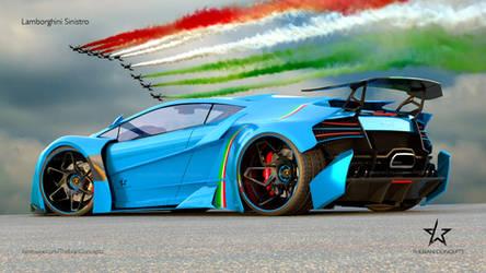 Lamborghini SINISTRO special edition. by mcmercslr
