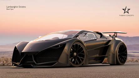 Lamborghini Sinistro Black Spec by mcmercslr