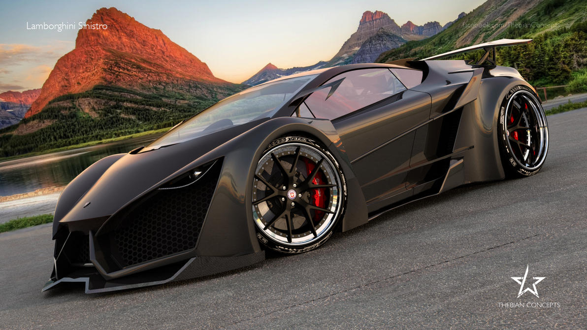 Sensational Lamborghini Sinistro by mcmercslr