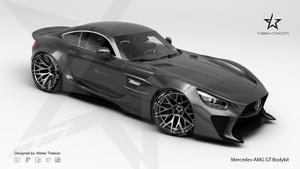 Mercedes AMG-GT Bodykit Design