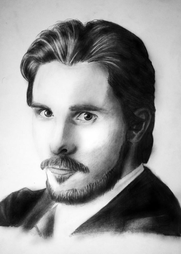 Christian Bale by DJFry