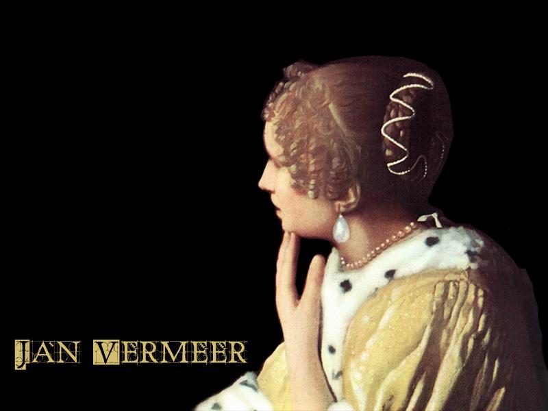 Jan Vermeer Wallpaper by sazuka ...