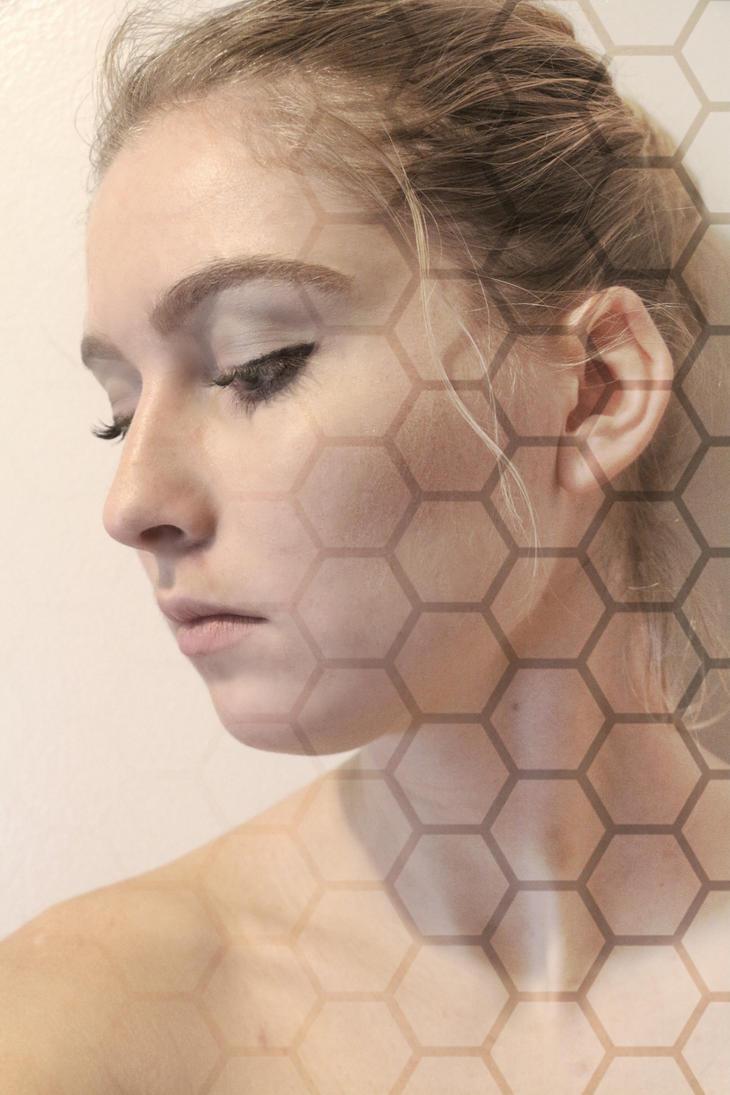 Hexagon by lavendercustard