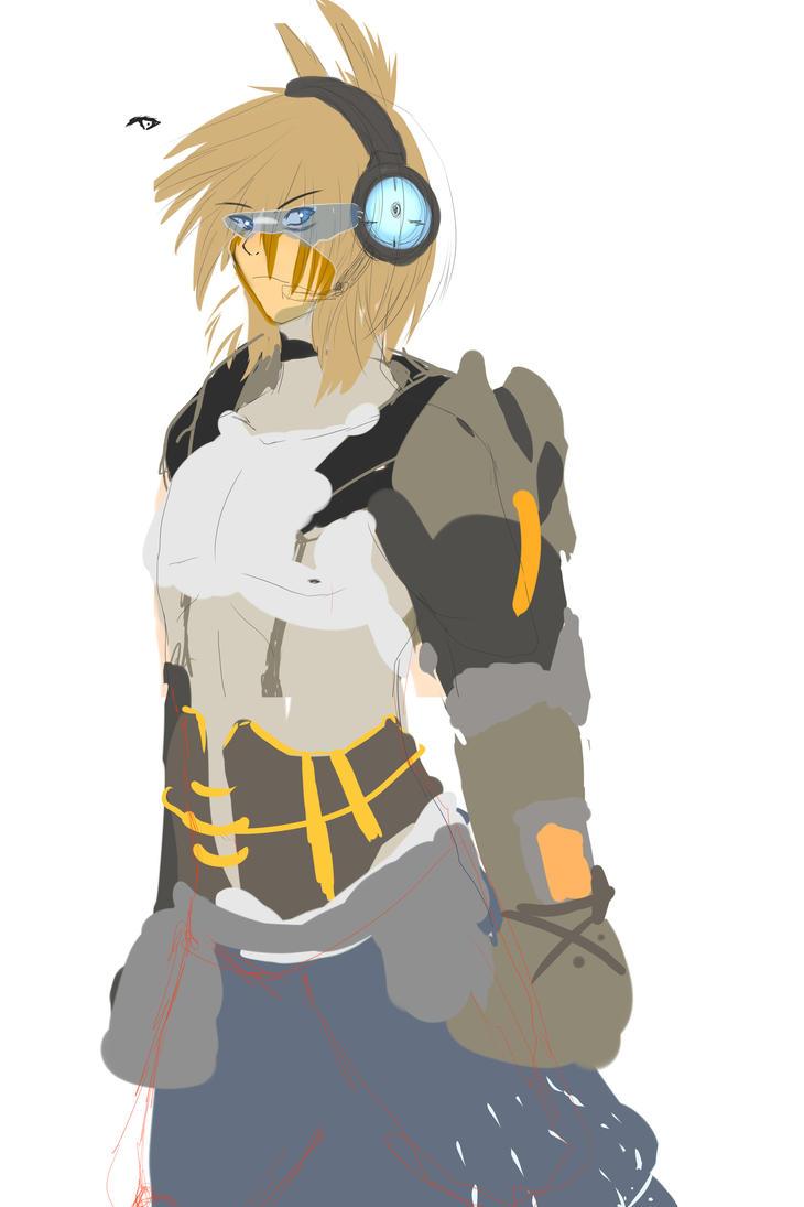 Armor Concept -Brian RF Armor- by ODST-Dutch