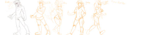 -WIP- Character Designs by ODST-Dutch