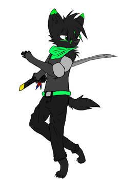 Jake samurai colored