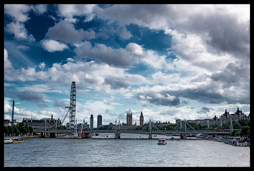 London by the River Thames