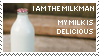 I am the Milkman. My Milk is.. by morowhitewolf