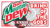 DietMountainDewCodeRed Stamp by morowhitewolf