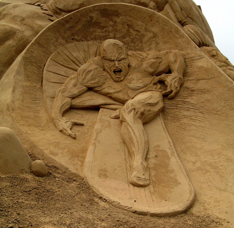 Fantastic Sand Sculptures