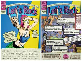 Lets Rock - Comics Tribute