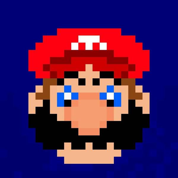 pixel merio by Alexinator5000