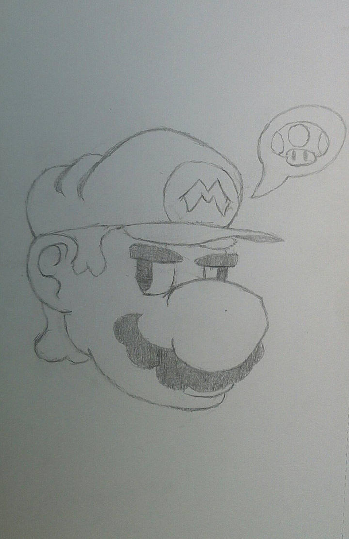 Mario needsa' mushroom by Alexinator5000