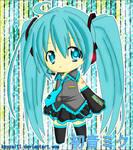 Chibi Miku Colored